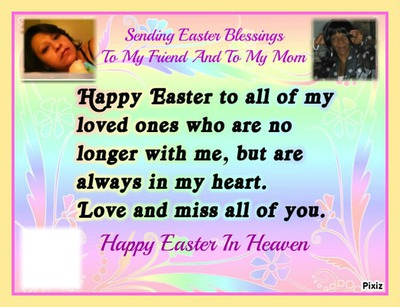 photo montage easter in