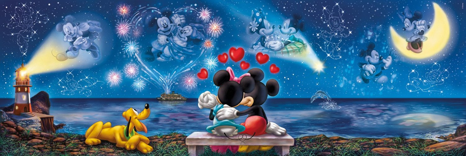 Cute Stitch Wallpapers For Computer Screen Puzzle Mickey Et Mimie Clementoni 39287 1000 Pi 232 Ces
