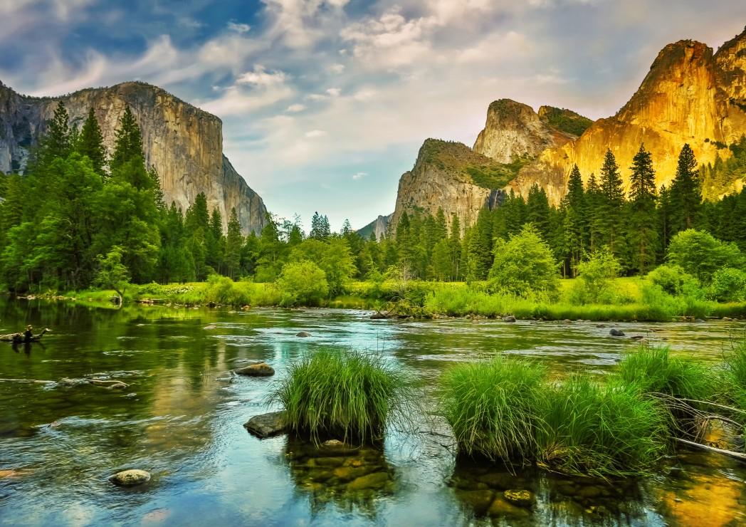 4k Laptop Wallpaper Fall Forest Puzzle Parc National De Yosemite Californie Etats Unis
