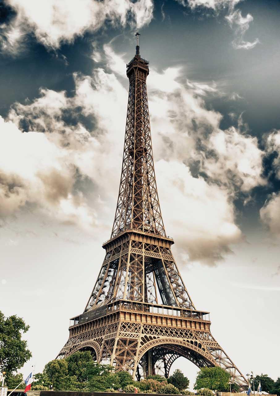 Fall In Paris Wallpaper Puzzle Tour Eiffel Paris Ks Games 11465 1000 Pi 232 Ces