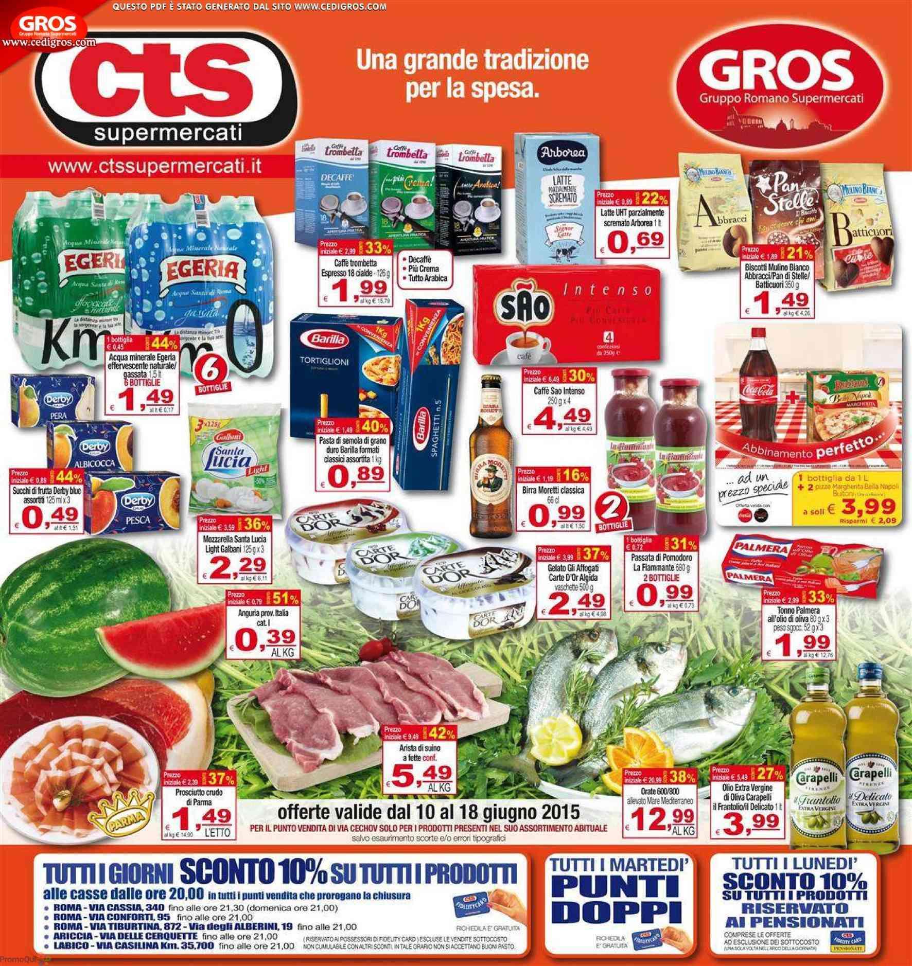 Cts Supermercati  Una grande tradizione per la spesa