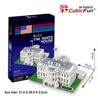 Puzzle 3D - Washington: Weisses Haus - 65 Teile - CUBIC ...