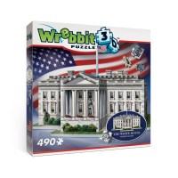 Puzzle 3D - Weisses Haus - 490 Teile - WREBBIT 3D Puzzle ...
