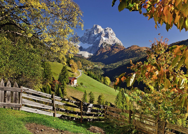 Fall Foliage Wallpaper 1920x1080 Monte Pelmo Venetien Italien 1000 Teile Ravensburger