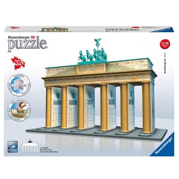 3d puzzle 324 teile brandenburger tor berlin