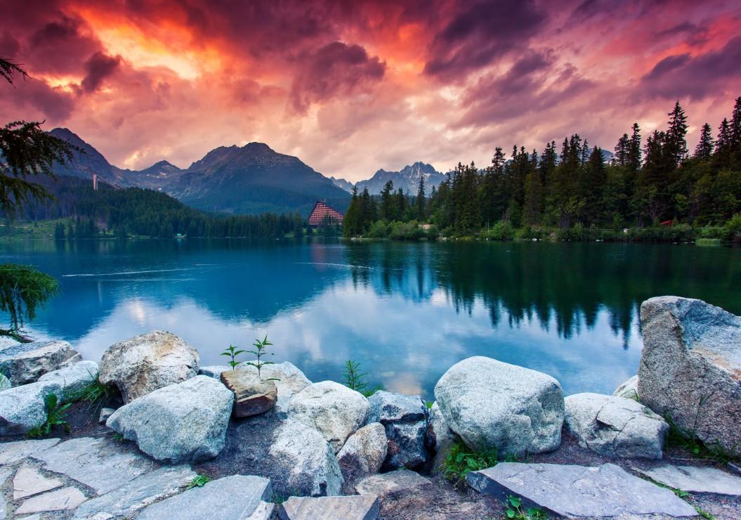 Hohe Tatra Slowakei Polen  1000 Teile  GRAFIKA Puzzle