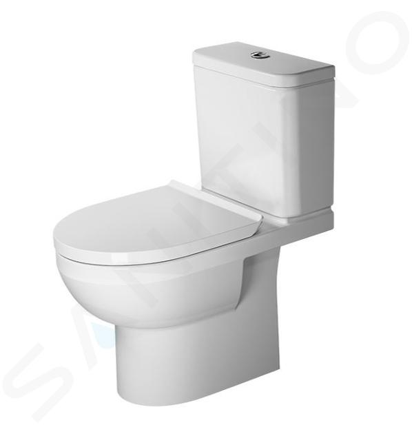 duravit durastyle basic wc a poser evacuation horizontale rimless avec wondergliss blanc alpin 21830900001