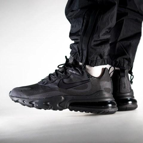 Nike Air Max 270 React 'Black / Oil Grey' .97 Free Shipping