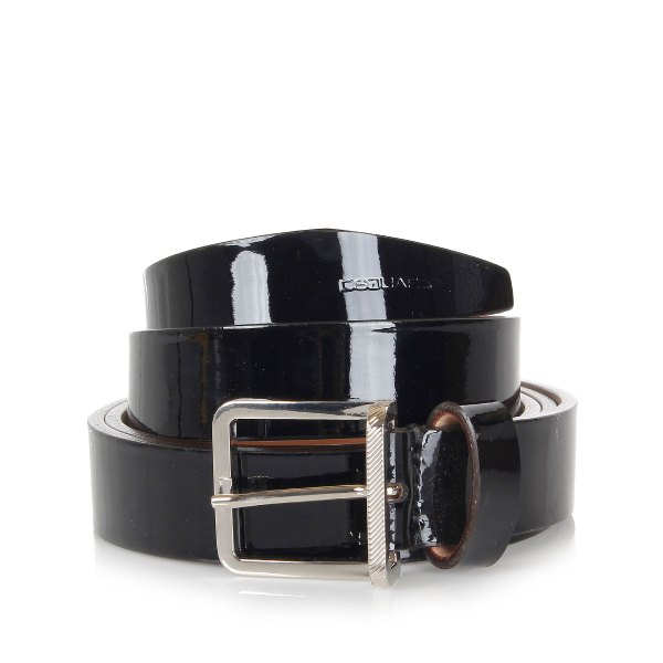 Dsquared2 Men Patent Leather Belt - Spence Outlet