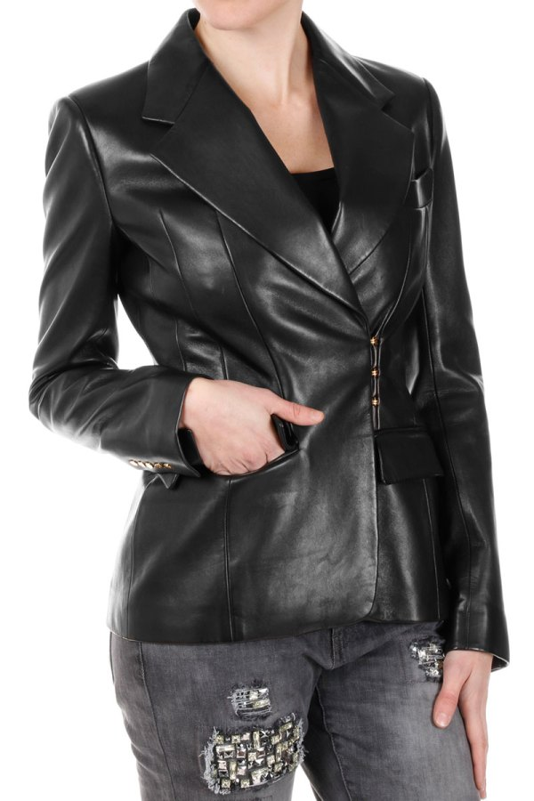 Tom Ford Leather Blazer