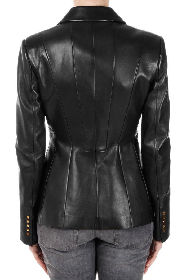 Tom Ford Women Leather Blazer - Spence Outlet
