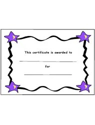 Two Stars and a Wish Sheet Template Download Printable PDF