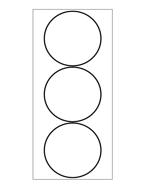 Simple Circle Tag Template Download Printable PDF