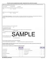 DD Form 3024 Download Printable PDF, Annual Periodic