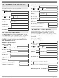USCIS Form I-129F Download Fillable PDF, Petition for
