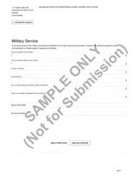 Ohio Advanced Practice Registered Nurse License