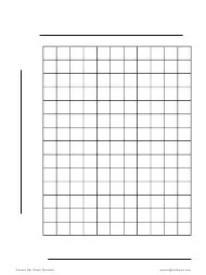 Graph Paper Templates PDF. download Fill and print for