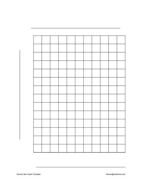 Generic Bar Graph Template Download Printable PDF