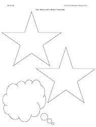 Two Stars and a Wish School Drama Peer Assessment Template