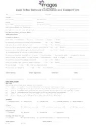 Client Body Art Record and Consent Form Download Printable