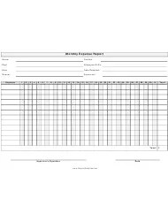 Monthly Activity Report Template Download Printable PDF