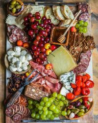 Cheese And Charcuterie Platter recipe | thefeedfeed.com