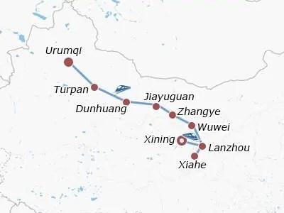 13 Days Silk Road Safari: Xining, Lanzhou, Xiahe, Wuwei