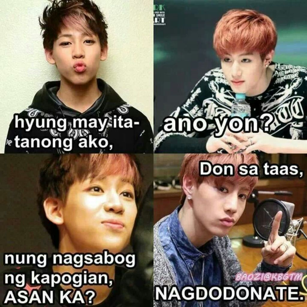 From Kpop Tagalog Memes By Hayanna WHI