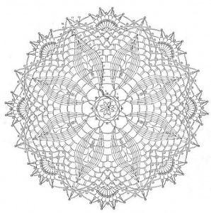 Free Crochet Pattern For Oblong Doily