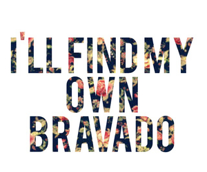 Image result for i will find my own bravado