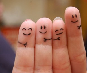 Image result for fingers with faces