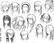 anime hairstyles - google