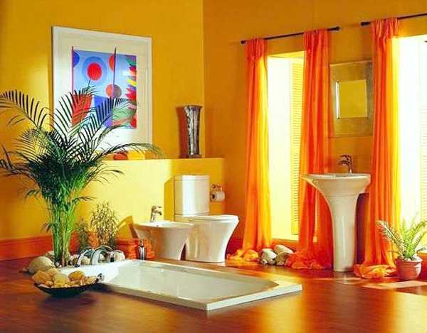 What Color Curtains Go Good With Yellow Walls