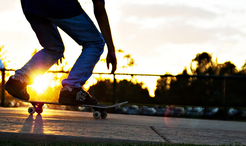 Skateboarding Girl Wallpaper Hd Manobras De Skate Em Slow Motion Keep Calm And Blog On
