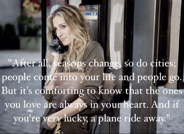 Quote By Carrie Bradshaw Love Her On We Heart It