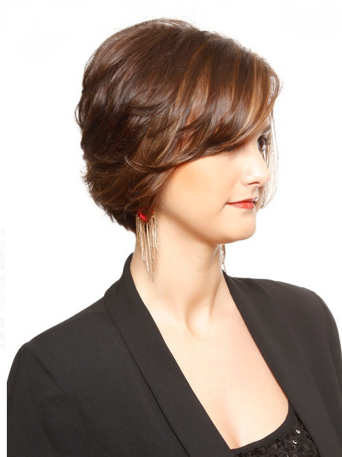 Short Layered Hairstyles For Thick Hair Over 50 Fusion Hair