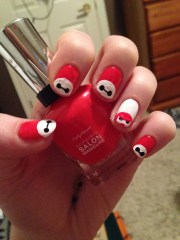 baymax nails heart
