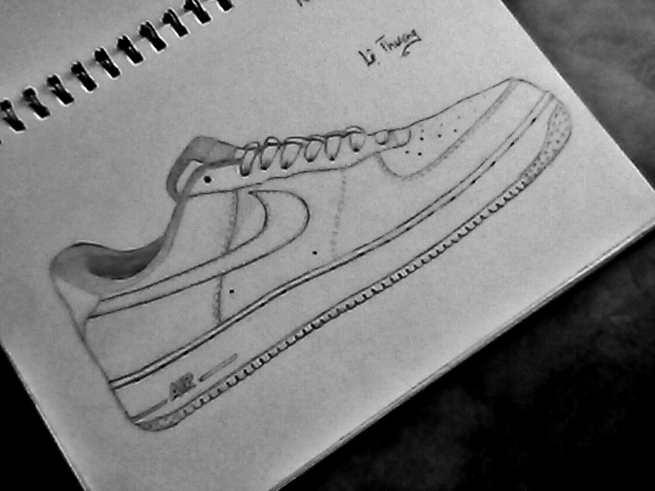Air Force One Sketch Year of Clean Water