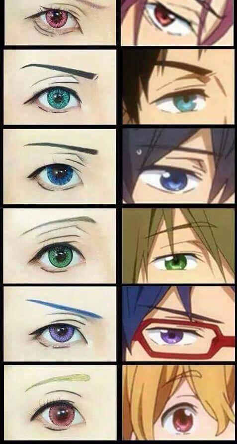 Anime Boy Makeup : anime, makeup, Anime, Makeup, Saubhaya