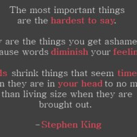 On Writing Stephen King's Way