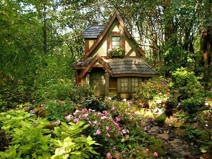 Woods and forests both have natural areas filled with trees, but woods are smaller and have fewer kinds of plants and animals. Tiny Forest Cottage Shared By Scififantasygirl
