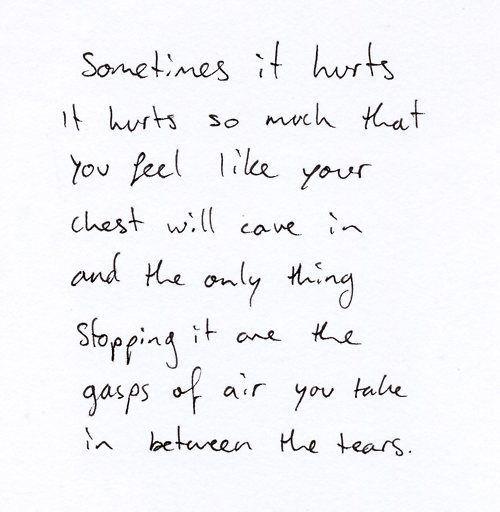 quotes, hurt, and sad -kuva