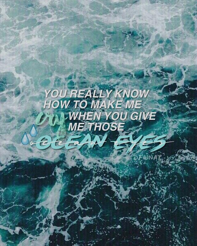 Ocean Eyes Tumblr  wwwbilderbestecom