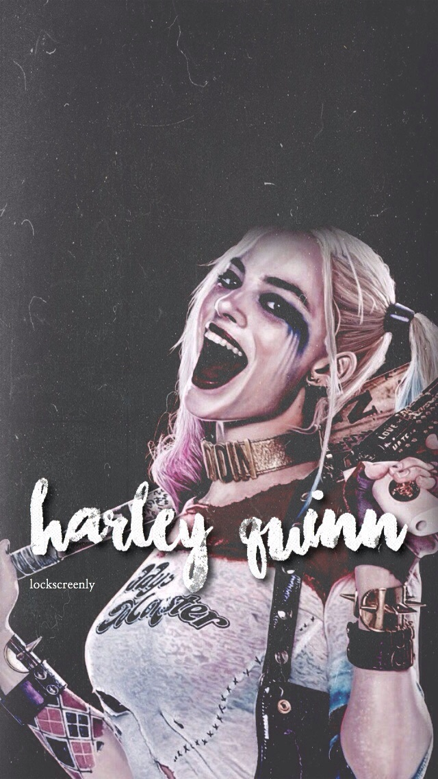 Harley Quinn Lockscreen : harley, quinn, lockscreen, Harley, Quinn, Lockscreen, Lockscreenly, Heart