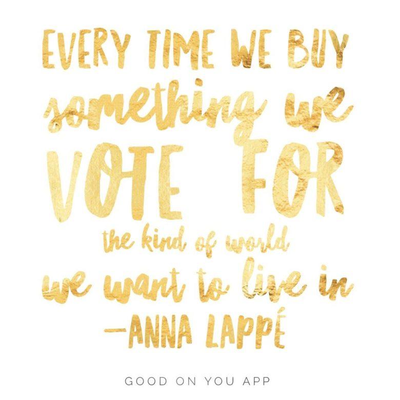 buy, quote, and vote -kuva