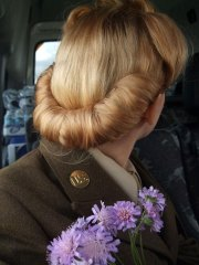 40s hairstyle rolls