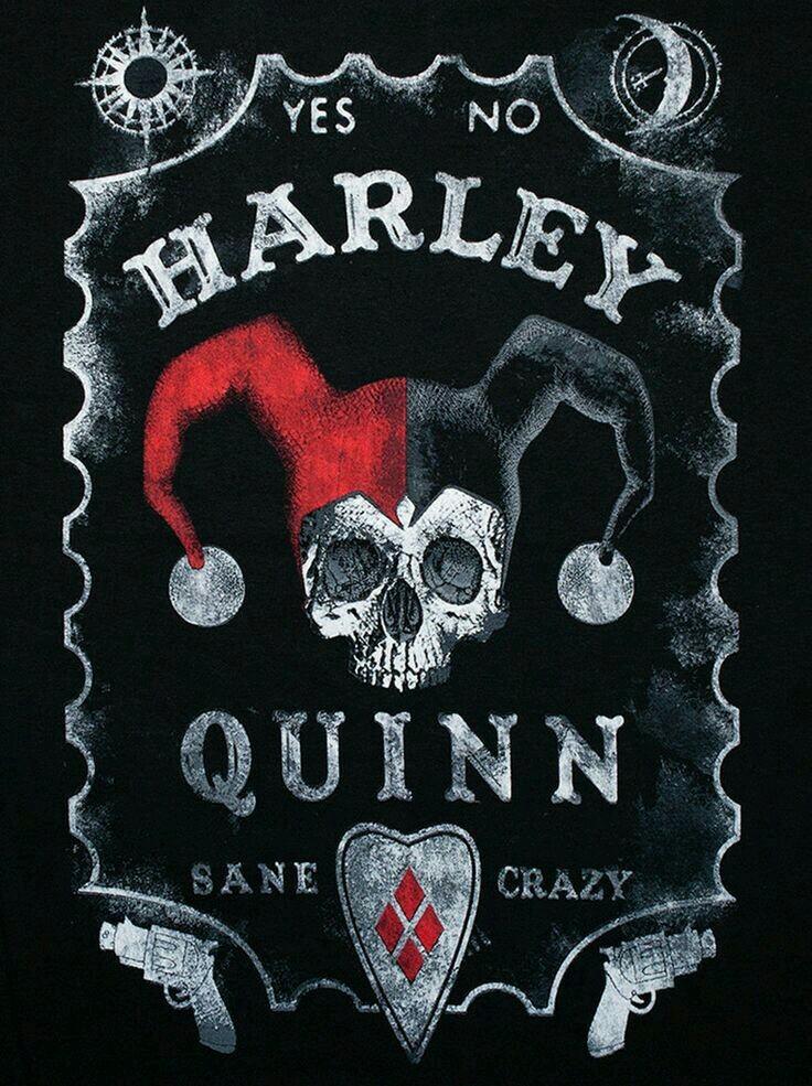 Harley Quinn Logo Wallpaper : harley, quinn, wallpaper, Wallpaper, Harley, Quinn