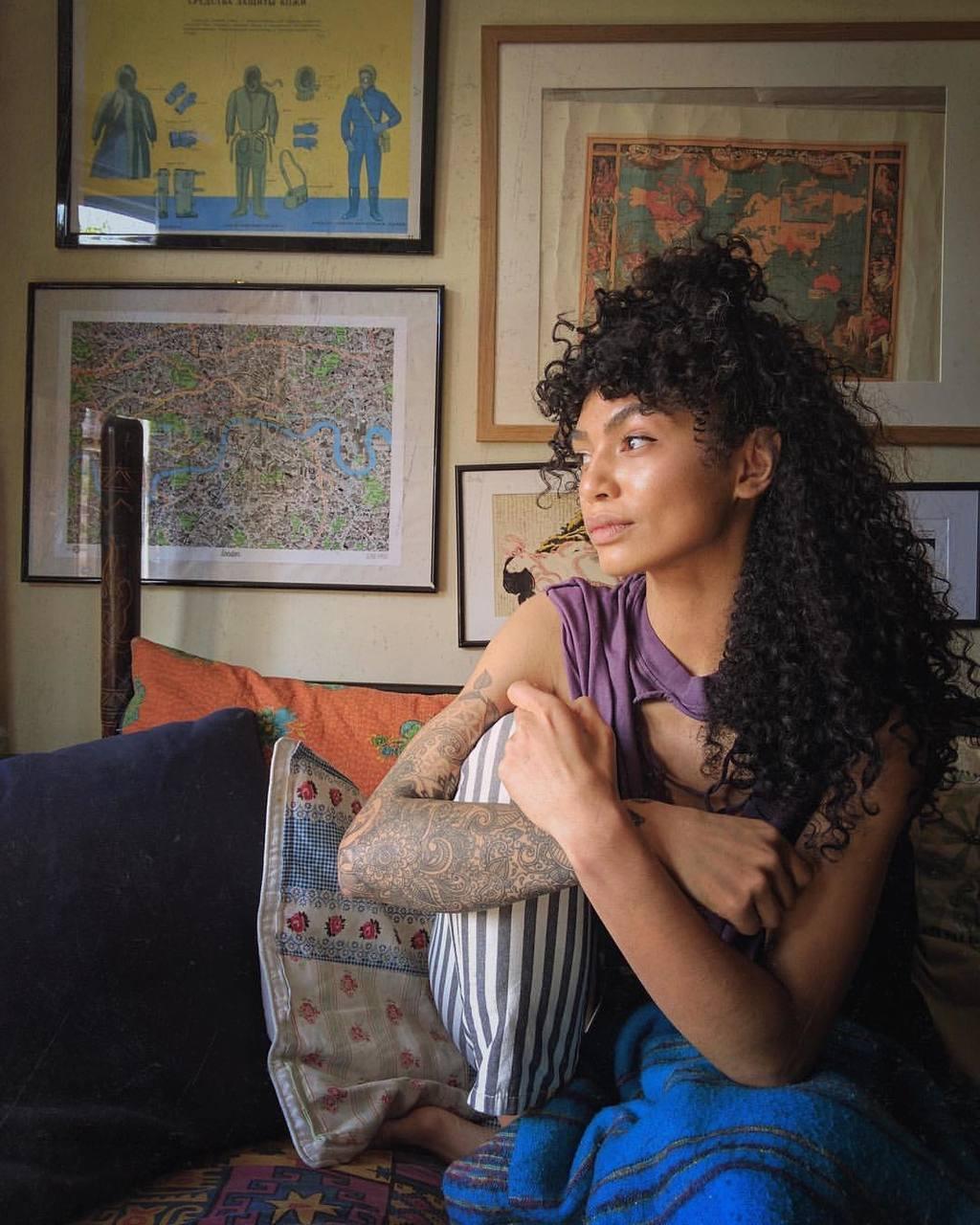 Sophia Sophia Roe Curly Hair Natural Hair Curly Bangs Curly