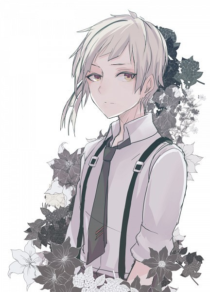 pics White Hair Boy Anime Child handsome anime game guys whit white
