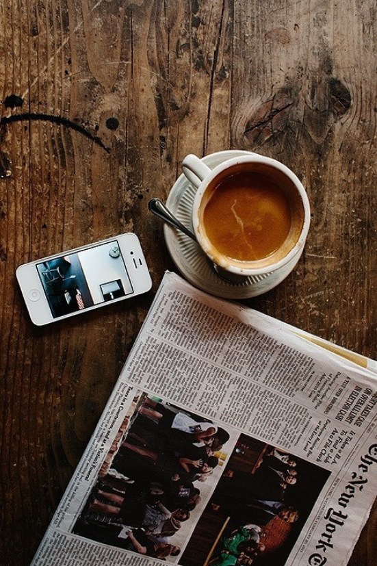 Image result for newspaper instagram